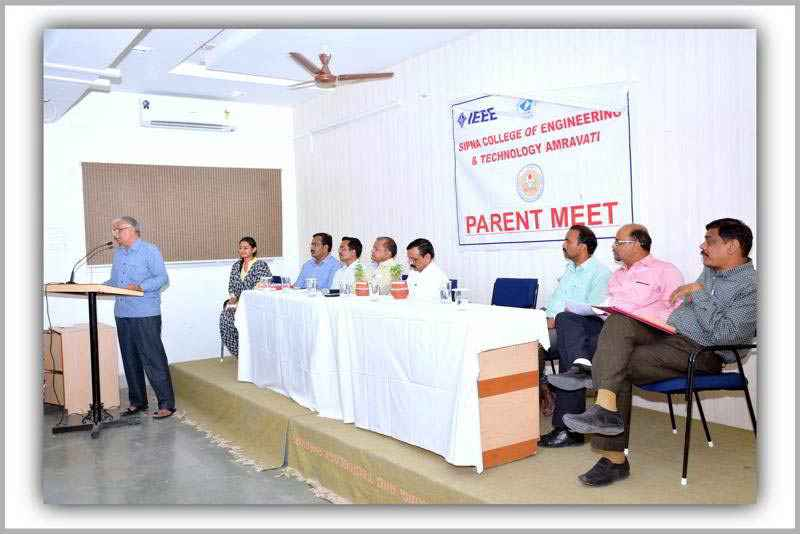 Parents' Meet held on 30th March 2016
