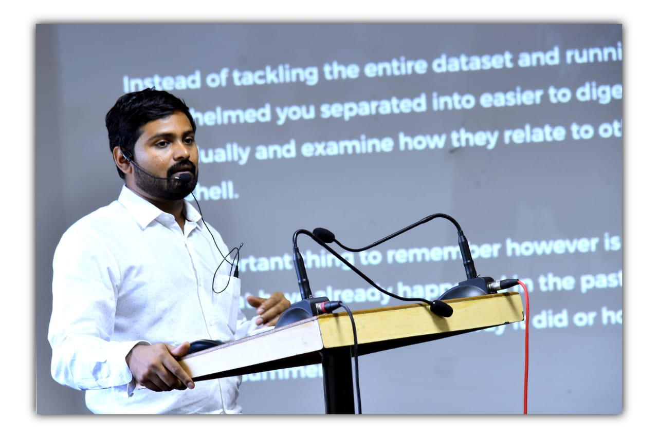 "One week STTP on ""Recent Trends in Data Science and Big Data Analytics"" conducted from 10/12/18 to 15/12/2018."