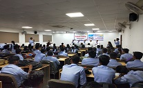 Seminar on Stress Management by Brahamakumari Pratibha, Brahamakumari Vinodbhai on 27/10/2018