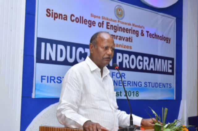 Three days Induction Program for first year students 2018-19