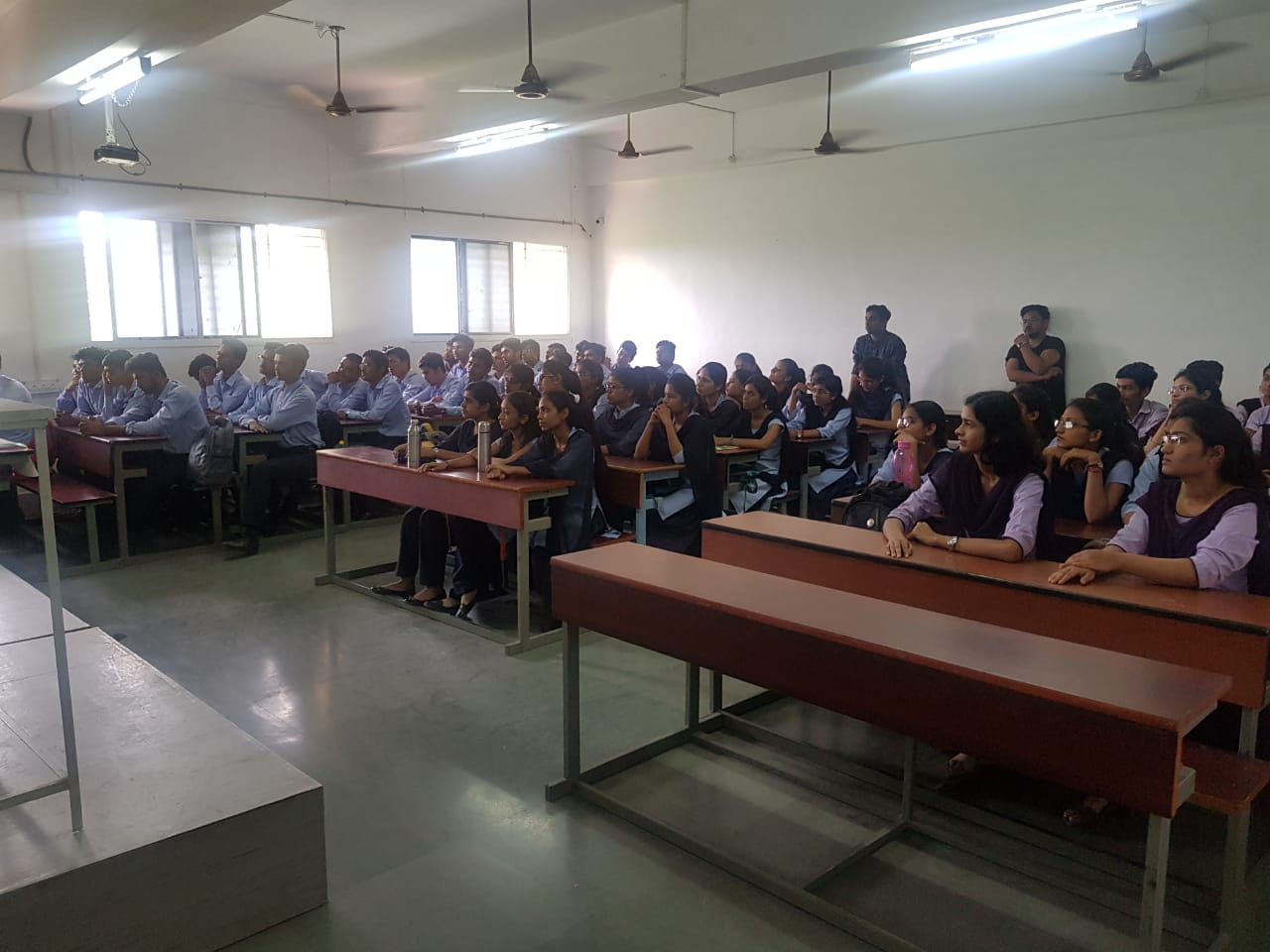 "Alumni Interaction on ""Working culture in I. T. Industries"" by Neeraj Vithalani,Junaid Sheikh and Team on 13 July 2019"