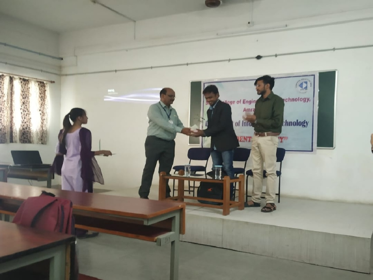 "A seminar on ""Video Game Development Industry and opportunities for Engineers"" by Mr. Chetan Ingle ,Director of Apogiv Pvt Ltd on 18 July 2019"