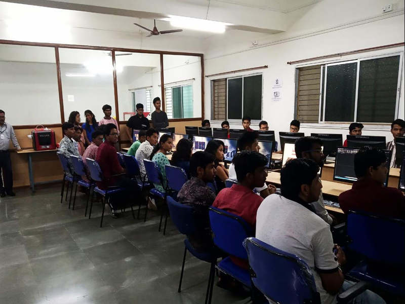 Seminar on 'Introduction to All Terrain Vehicle-Manufacturing and Cmpetitions' by Team Immortal Sipnoids (III and IV year students) for II year Students on 7th Aug 2019.