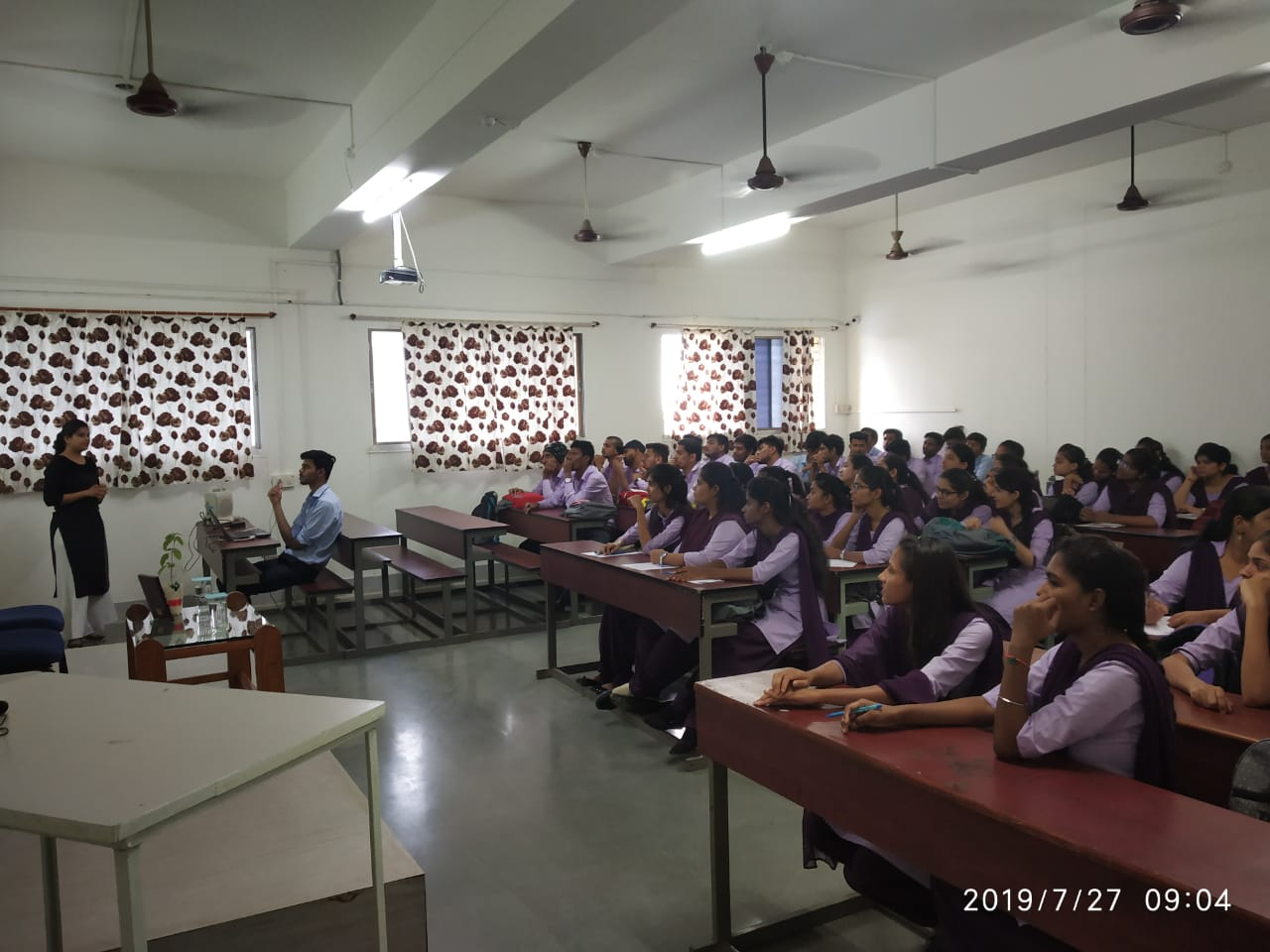 Seminar on SDLC in IT Industry and Insights of Automation Testing by  Ms. Anagha Jagat (From Xoriant Solutions Pvt. Ltd Pune.)