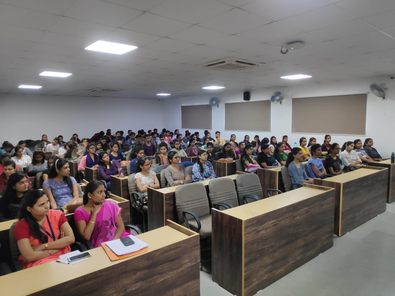 "Seminar on ""Career Guidance"" by Mr. Aniruddha Shukla Manager,Mumbai Educational Trust,Bhujbal knowledge city,Mumbai for final year on 28/08/2019"