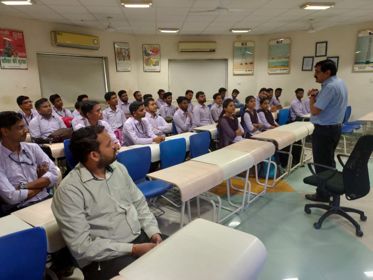One day Industrial Exposure Training For Final Year students of Mechanical Engineering at KEC International, Butibori MIDC, Nagpur on 29/08/2019